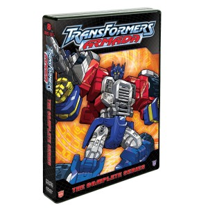 Transformers Armada The Complete Series Cover Art and Lithograph