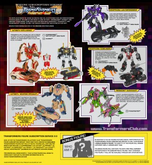Transformers News: Transformers Figure Subscription Service 2.0 order page is now live!