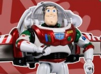 Transformers News: Disney Label Buzz Lightyear Spaceship Christmas Version Revealed!