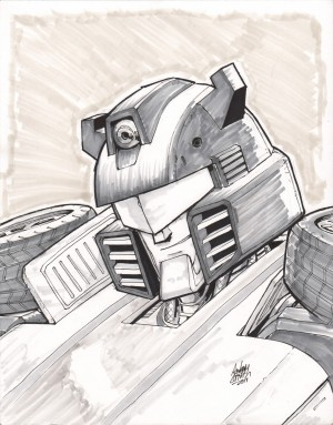 Transformers News: Andrew Griffith Opens Convention Sketch List Summer 2014  - NYC Special, BotCon, TFCon