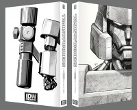 Transformers News: Cover and Traycase Preview of the First IDW Limited Transformers Book