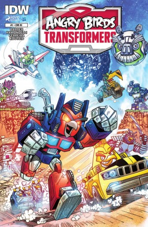 Transformers News: IDW Angry Birds Transformers #1 Review