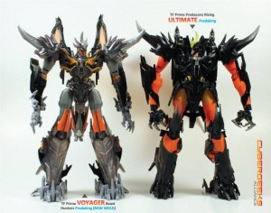 Transformers News: Beast Hunters Simplified Voyager Predaking Comparison Images