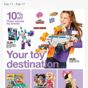 Steal of a Deal: 10% off Transformers Toys In Store 2 / 11 Through 2 / 17