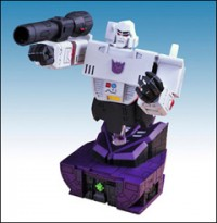 Transformers News: SDCC 2009 Transformers G1 Animated Megatron Bust