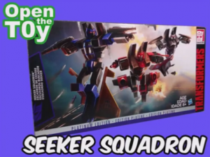 Hasbro Transformers Platinum Edition G1 Reissue Seeker Squadron: Video Review