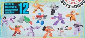 Transformers Tiny Titans Blind-Bagged Characters Wave 3 Full Line-Up: RID, G1, Beast Wars