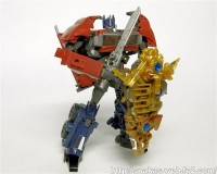 "Transformers News: In-Hand Images: Takara Tomy Transformers Prime Toys""R""Us Japan Exclusive Battle Shield Optimus Prime"