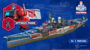 Transformers x World of Warships Collaboration Incoming