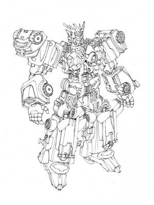 Machinima Transformers Combiner Wars Victorion Design by Andrew Griffith