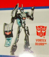 Transformers News: Transformers Animated Vortex Blurr Revealed