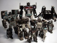Transformers News: Takara Tomy Masterpiece MP-10B Black Convoy Image