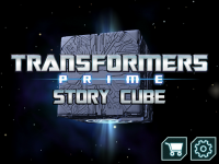 Transformers News: Hasbro's Transformers Prime Interactive Story Book Launched