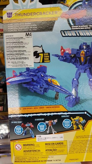 Transformers Cyberverse Warrior Thundercracker to be a Toys R Us Exclusive