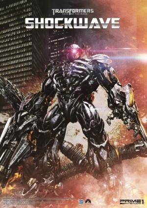 Prime 1 Studio MMTFM-14 Transformers Dark of the Moon Shockwave Unboxing