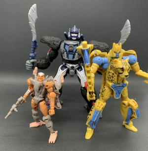 Takara Tomy Share Group Shot Of Optimus Primal, Cheetor and Rattrap