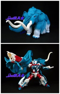 Transformers News: In-Hand Images: TFSS Ultra Mammoth, Slipstream, Circuit, and Jackpot