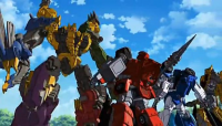 Transformers News: Transformers Go! Screen Shots