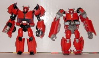 "Transformers News: Transformers Prime Cliffjumper ""First Edition"" vs. ""Robots in Disguise"" Pictorial Review"