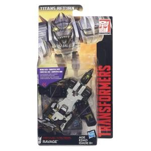 Stock Images - Transformers Titans Return Legends class Wheelie, Rumble, Ravage