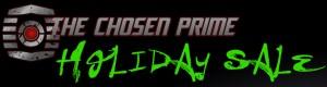 The Chosen Prime Sponsor Newsletter For December 1, 2017 (plus Holiday Sale!)