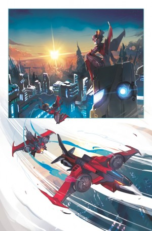 Transformers News: Sneak Peek: Transformers: Windblade Page One