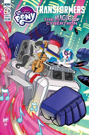 Interview with My Little Pony/ Transformers II Crossover Editor Megan Brown
