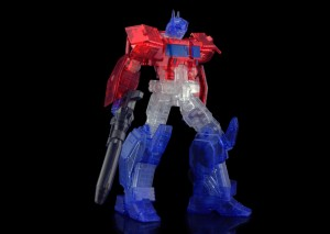 Flame Toys Reveal Limited Edition Clear IDW Optimus Prime Kit