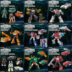 Quick Promotional Transformation Videos for Transformers Earthrise