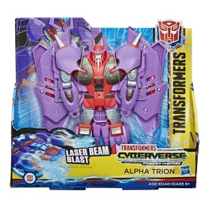 In Package Picture of Transformers: Cyberverse Ultra Class Laser Beam Blast Alpha Trion