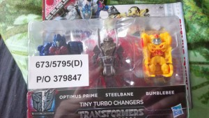 Transformers News: Steal of a Deal: Transformers The Last Knight Exclusive Tiny Turbo Changer 3-Pack On Sale in UK