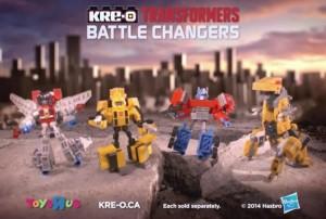 Hasbro Transformers Kre-O Battle Changers Commercial