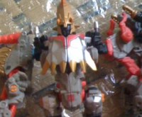 Transformers News: Toy Images of Power Core Combiners Grimstone with Dinobots