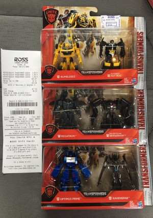 Transformers News: Transformers: The Last Knight Wal-Mart Exclusive Legion Two Packs found at Ross