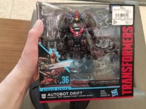 Transformers News: Canada and Malaysia In Store Sightings of Exclusive Studio Series 36 TLK Drift