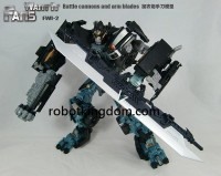 Transformers News: FWI-2 Weapons Upgrade for Leader DOTM Ironhide Color Images
