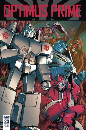 Review of IDW Transformers Optimus Prime #23