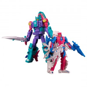 Official product images of Generations Selects Overbite and Tentakil