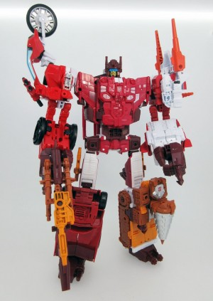Image of Final Product for Takara Transformers Unite Warriors Computron and More Show Pictures