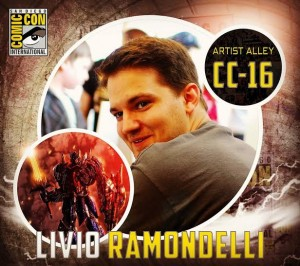 Transformers News: Transformers Artist Livio Ramondelli To Attend San Diego Comic Con Table CC-16 #SDCC2016