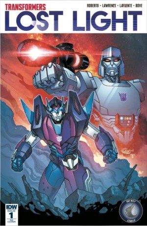 Transformers News: Bad Wolf Comics Variant Cover for Lost Light #1 Revealed
