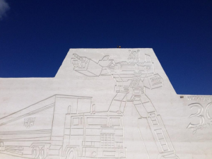 Images and Video from Asahikawa 55th Snow Sculpture Festival Featuring Transformers Sculptures
