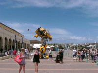 Transformers News: Movie Bumblebee Prop Appears in Sydney, Australia