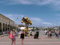 Transformers News: Movie Bumblebee Prop Appears in Sydney, Australia