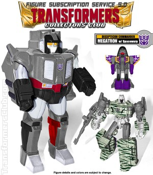 Transformers News: TFCC Subscription Service 5.0 Update - Figures Arriving in March