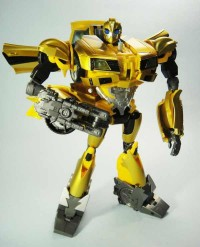 "Transformers News: In-Hand Images: Toys ""R"" Us Japan Exclusive Arms Micron Gatling Bumblebee"