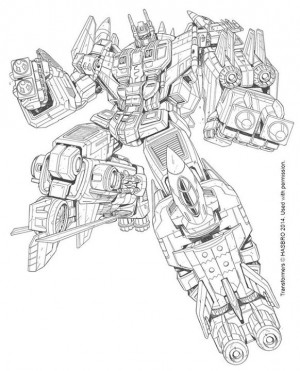 Transformers Generations Combiner Wars Superion Art by Marcelo Matere