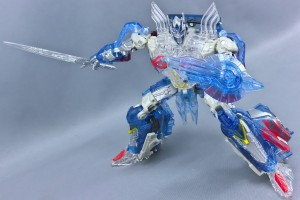 In-Hand Images of Takara Tomy Transformers The Last Knight TLK Clear Version Optimus Prime