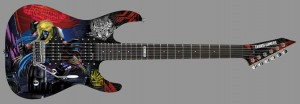 SDCC 2014 Coverage: Nuclear Blast, ESP and  Kirk Hammett Team up to Create Transformers Guitar