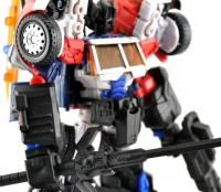 New Images of MakeToy 'Tank' - RTS Optimus Prime Add-Ons
